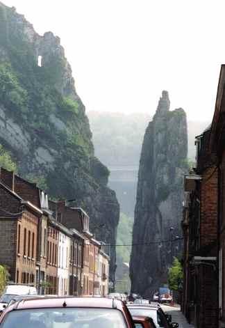 Rock Bayard in Dinant Belgium