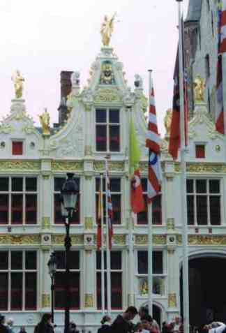 Ornate Building Near the Grand Place
