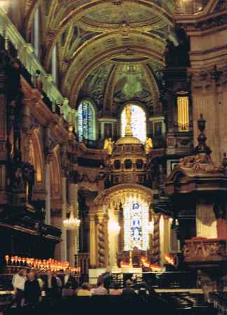 Inside St. Pauls London