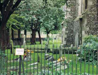 Peaceful Resting Spot in Cambridge England