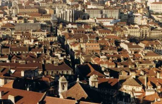 Rooftops of Old Lisbon