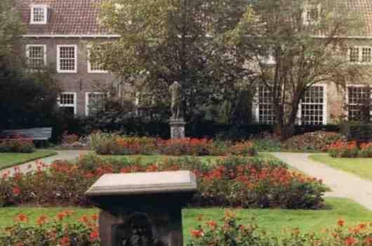 Garden of the Prinsenhof - Old Image