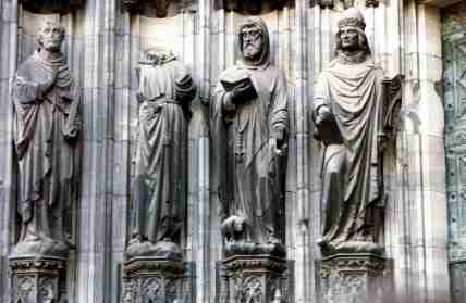 Watching Over The Faithful - Cologne Dom