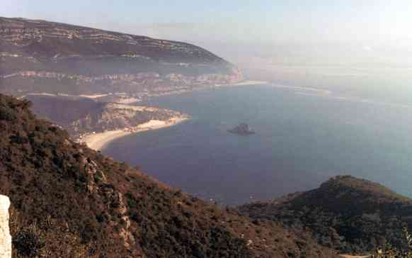Fog Shrouded Coast of Portugal