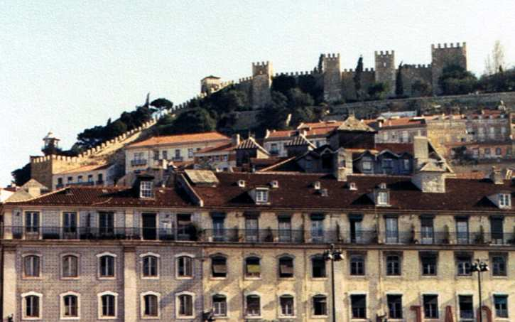 Castle St. George in Lisbon