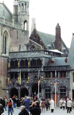 Chapel Of The Holy Blood in Bruges