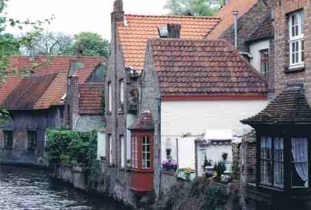 Street Scene in Bruges