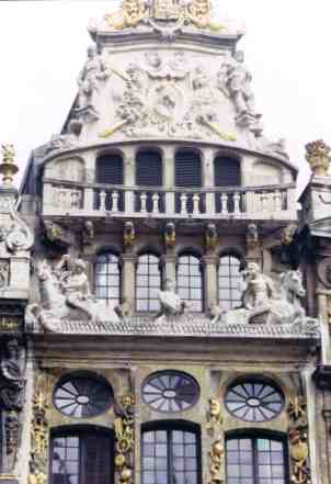 Ornate Guildhall Detail