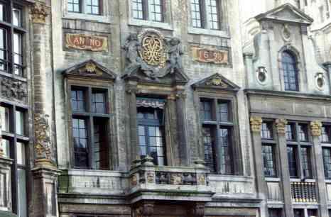 Beautiful Grand Place Building Built 1698