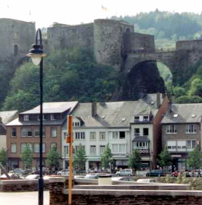 Castle Of The Counts Citadel Above Namur