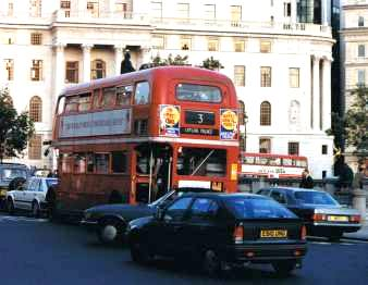 Double Decker at Trafalgar Square