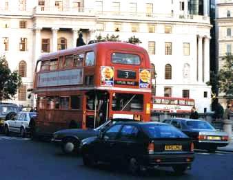Double Decker at Trafalgar Square