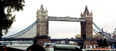 Tower Bridge Over the Thames