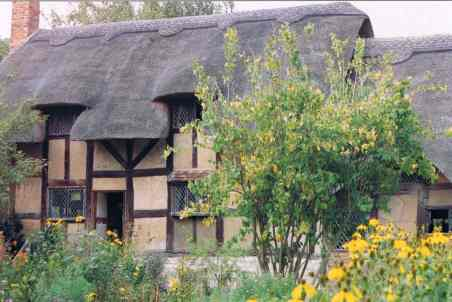 Thatched Cottage of Anne Hathaway