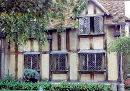 Shakespeares Home in Stratford upon Avon