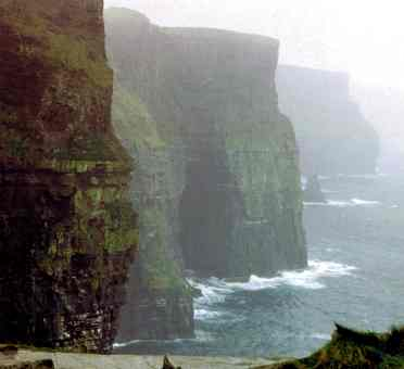 The Imposing Cliffs of Moher