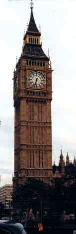 Londons Iconic Big Ben Clock Tower