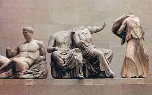 Elgin Marble Figures from the Parthenon
