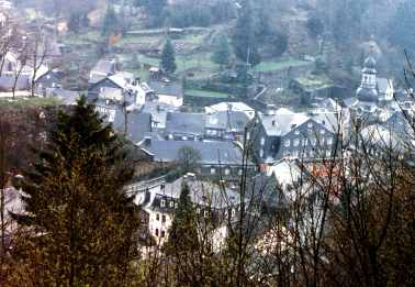 Valley Town Monschau Germany