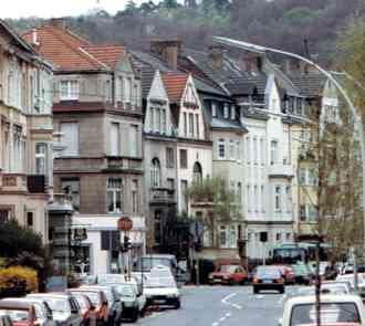 Dusseldorf Houses - Post WWII