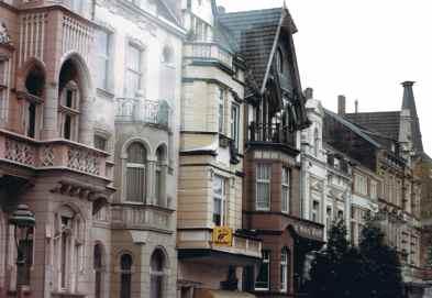 Oberkassel Houses in Dusseldorf