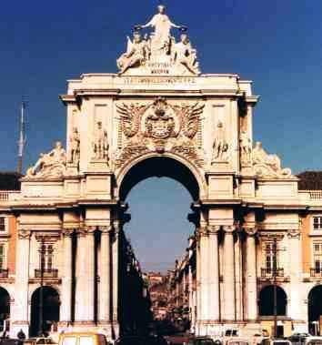 Arco da Rua Augusta Lisbon