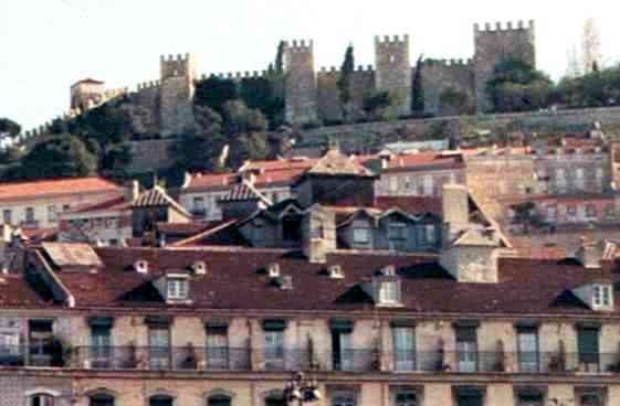 St. George's Castle Above Lisbon