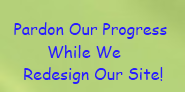 Pardon Our Progress Redesign Sign