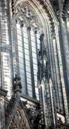 Window Facade - Cologne Cathedral