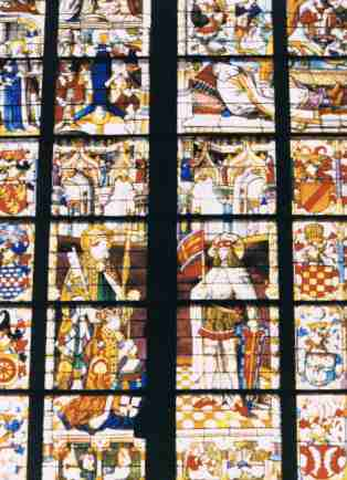 Stained Glass Window - Cologne Cathedral