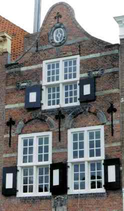 Facade of Medieval Canal House
