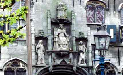 Flemish Building Detail