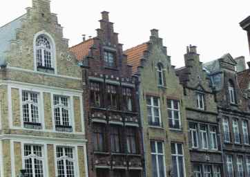 Flemish Buildings From The Middle Ages