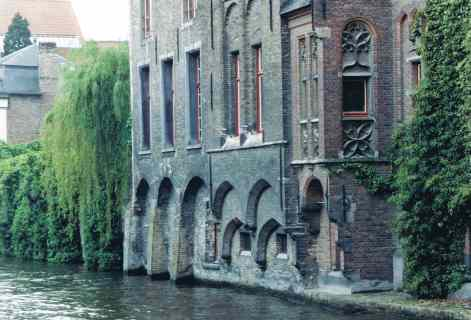 Canal Houses in Brugge