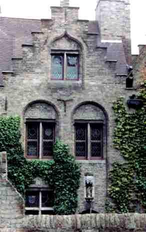 Beautiful Brugge Building Detail