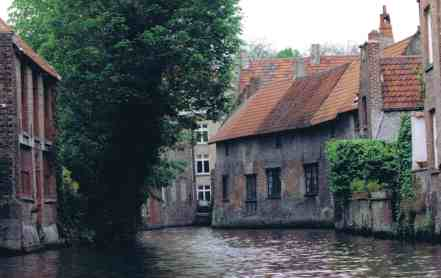 Bruges Canal - Just As It Was In The 1500s