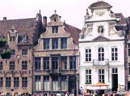 16th Century Buildings in Ghent