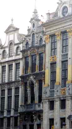 Gothic - Baroque - and Louis XIV Guildhalls