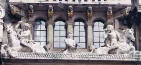 Brussels Guildhall Building Detail