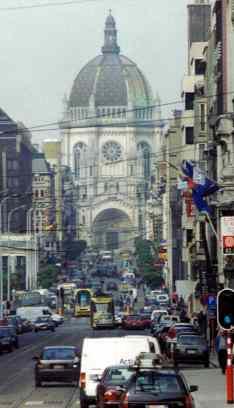 Street Scene In Brussels