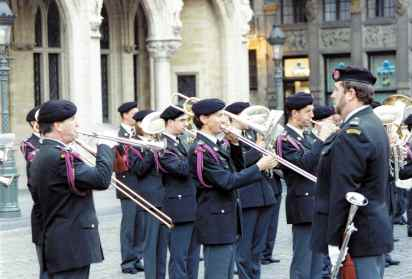 Players On The Grand Place