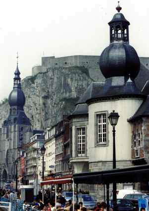 Town Of Dinant In The Ardennes