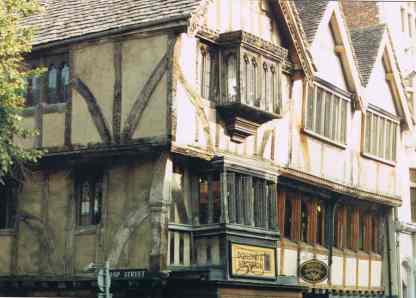 Medieval Half-timbered Tudor