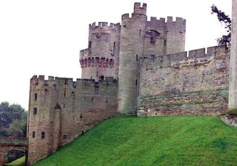 Approaching the Great Warwick Castle