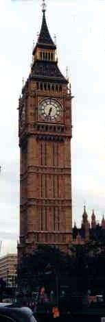 Londons Iconic Big Ben Clock Tower