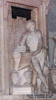 The Bard Immortalized in Westminster Abbey