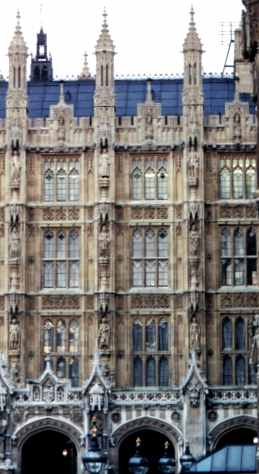 House of Parliament in the Palace of Westminster