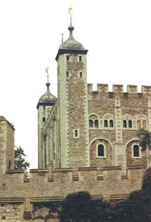 The White Tower in the Tower of London