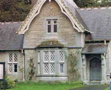 Irish Cottage Near Galway Bay