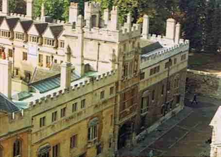 Chimneys and Parapets in Cambridge England